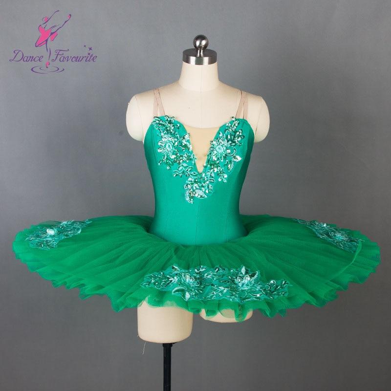 3530aeef6ee41 Spring Green Girls ballet tutu women Ballet dress for ballerina Pancake  tutus professional ballet costumes Bll055-in Ballet from Novelty & Special  Use on ...