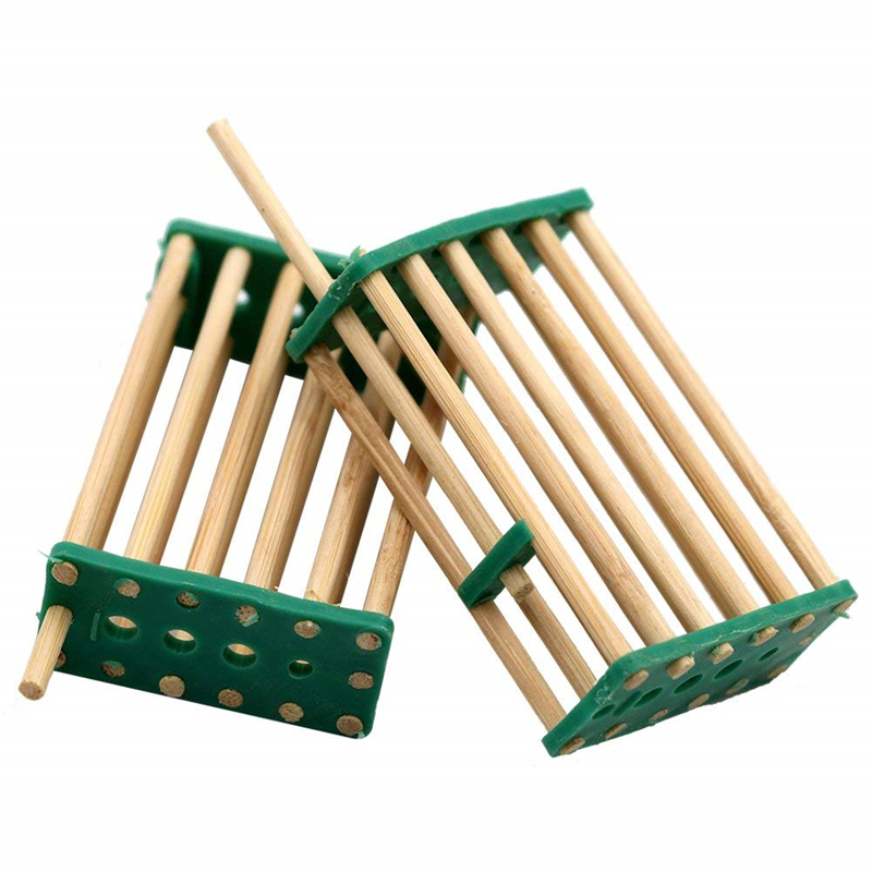 DLKKLB 5 Pcs Bee Tools Queen Cage Beekeeping Tools Bamboo Bee Multifunction Queen Caged Prisoners Queen King Caged Prisoners