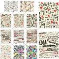 1 sets DIY Nail Art Calcomanías de Transferencia de Agua Completo en las uñas Belleza Sello Diseños BLE1885-1895 Decoraciones Consejos De Moda