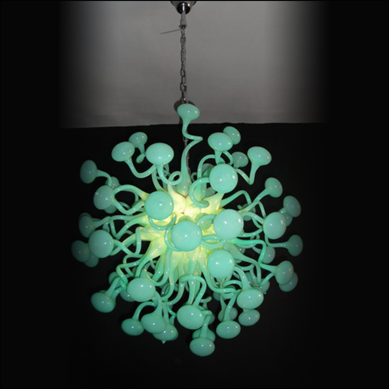 Chihuly Style Hand Blown Glass Chandelier with LED Light Source for Hotel/Home/Coffee Shop/KTV/Wedding Decoration