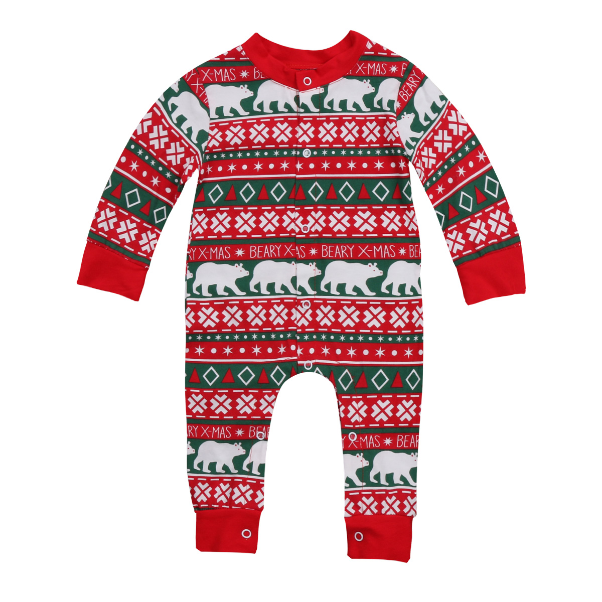 Newborn Baby Boy Girl Clothing Xmas Romper Jumpsuit Long Sleeve Cotton Cute Infant Winter Clothes Baby Girls Outfit 2017 newborn baby boy girl clothes floral infant bebes romper bodysuit and bloomers bottom 2pcs outfit bebek giyim clothing