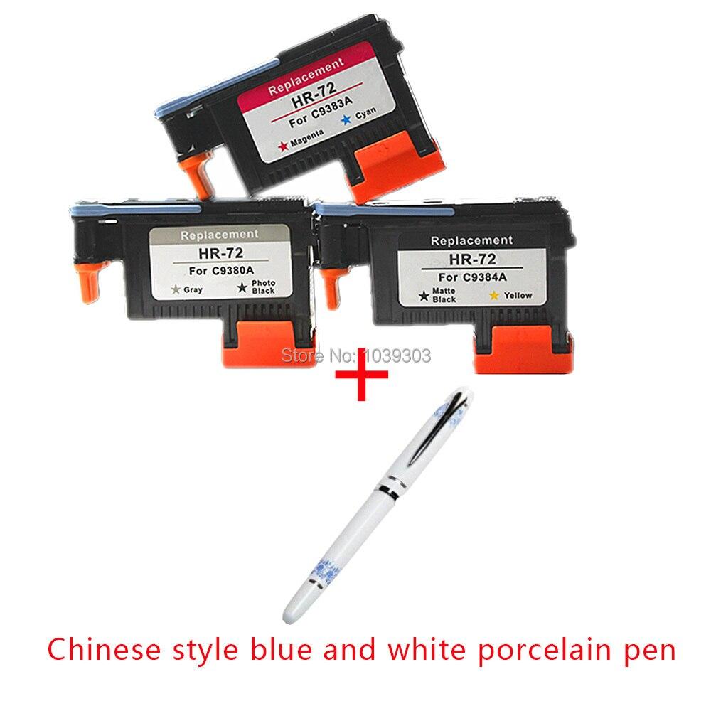 C9380A C9383A C9384A Printhead Compatible for HP 72 DesignJet T1100 T1120 T1120ps T1200 T1300 T1300ps T2300 T610 T770 T790 T795 печатающая галовка hp 72 c9380a серая и фото черная c9380a