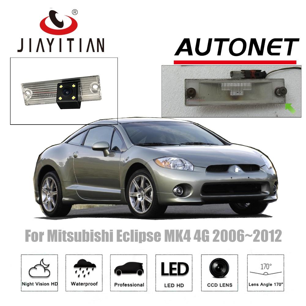 JIAYITIAN Rear View camera For Mitsubishi Eclipse MK4 4G 2006~2012 Reverse Camera/CCD/Night Vision/license plate camera backup