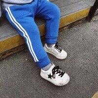 Peuter meisjes jongens broeken baby harembroek leggings kinderen effen blauw grijs zwart meisjes broek