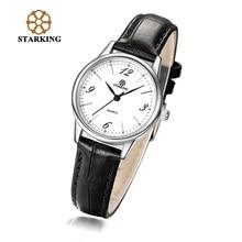 STARKING Luxury Quartz Watches font b Women b font Leather Water Resistant Ultra Thin Watch Ladies