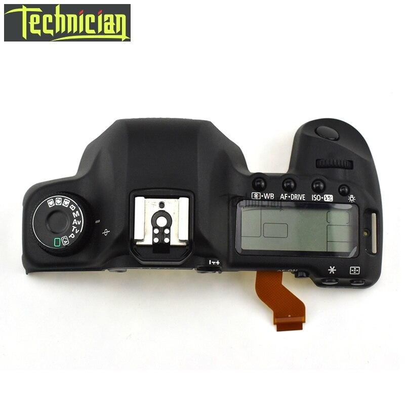 Coque de protection supérieure 5D2 avec pièces de rechange pour caméra LCD 5D Mark II pour Canon