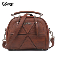 ZMQN Women Messenger Bags Famous Brand 2017 Vintage Retro Women Crossbody Bag Small PU Leather Handbags