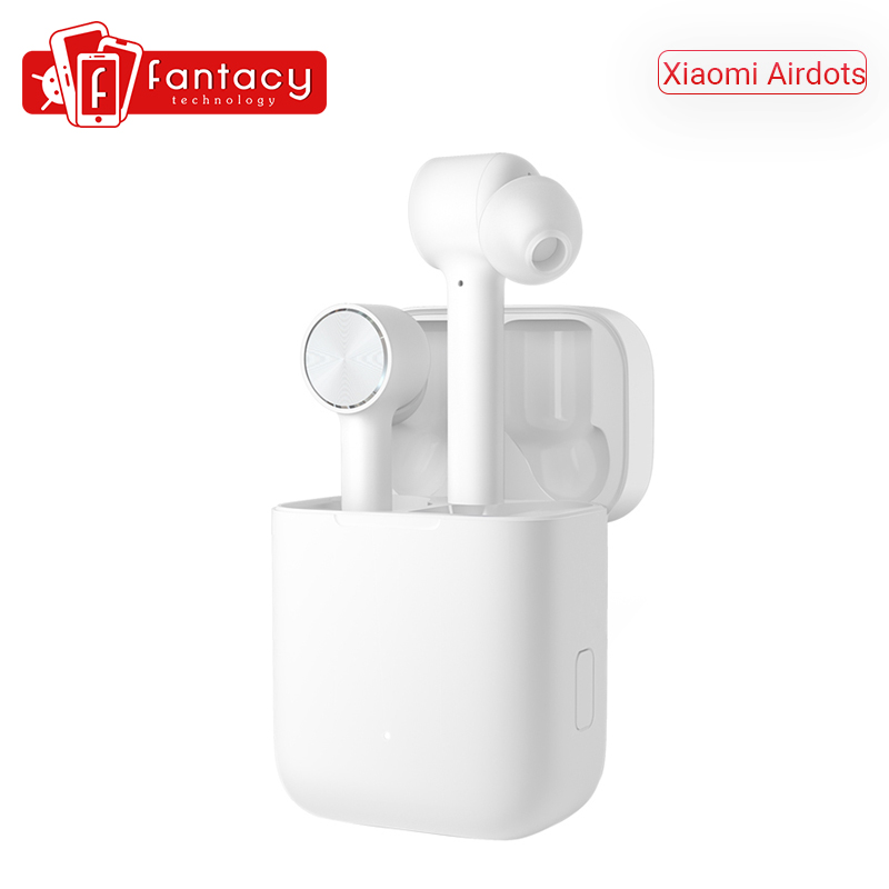 In Stock Xiaomi Airdots Pro TWS Wireless Earphones Bluetooth Earphone HD Auto Pause Tap Control For IOS  amp  Android SmartPhone