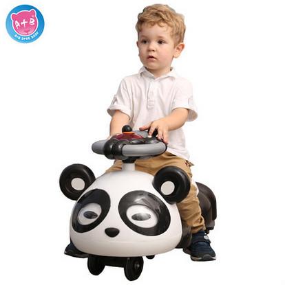 La nueva rueda niños mudos shilly coche scooter de coche yo columpio coche con música andador