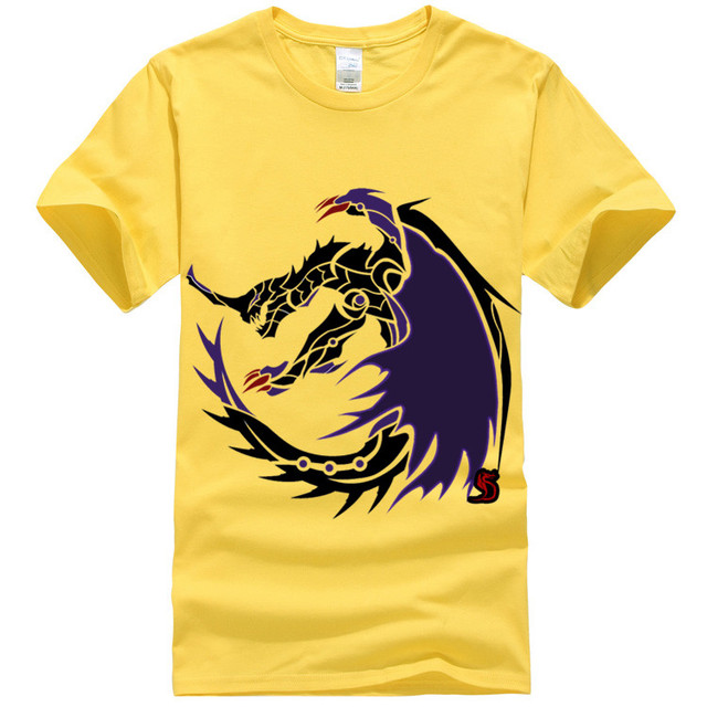8c06de8c7 6 ألوان الوحش هنتر magala التعميم شعار الأصفر بلايز رجالي ماركة الملابس  القمم تيز o الرياضة