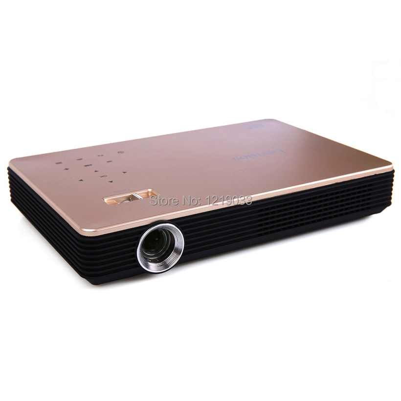 2017 New LEVISION DLP Electronic Zoom High Brightness 5600 Lumens Mini Projector Full HD 1080P 3D WiFi Android 4.4 LED - Amu Electronics Co., Ltd. store
