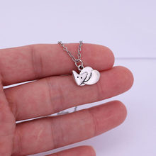 cute fox pendant necklace fox jewellery necklaces gift(China)