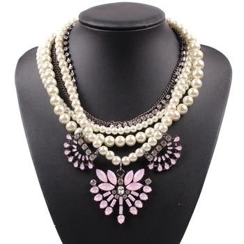 95bbfed7f51f Collar grueso multicapa Maxi mujer joyería de moda barata Collares Infinity  Goth collar gargantilla ...