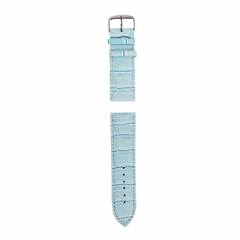 Moda saat kayışı 12mm, 14mm, 16mm, 18mm, 20mm, 22mm, 26mm yumuşak ter bandı deri kayış çelik toka bilek Watchband kadın kemeri