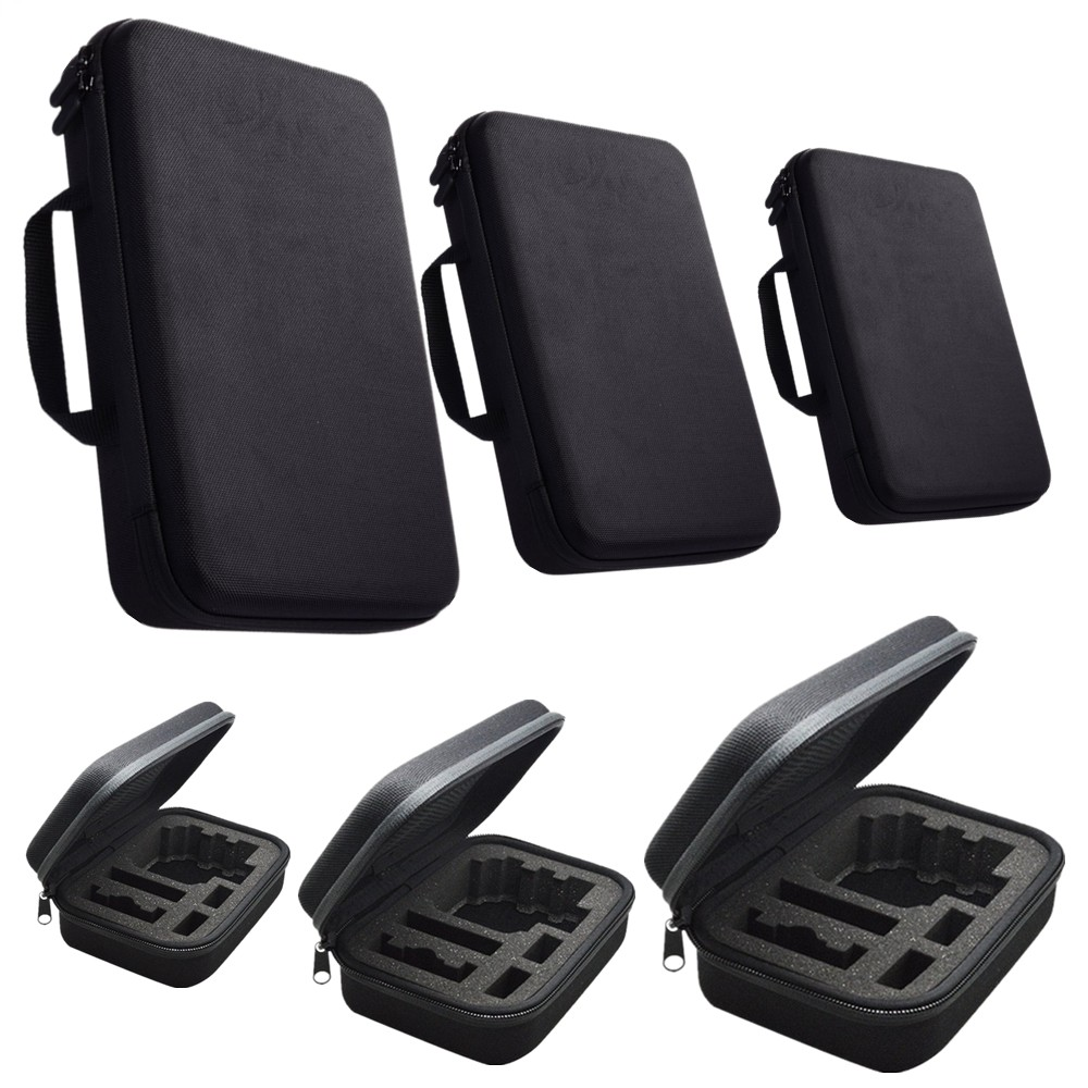 Promotion Travel Storage Collection Bag Case for Gopro Hero 3/4 Sj4000 Xiao mi Yi Action Soocoo Camera Sport Cam 22.5*17.5*6.7cm