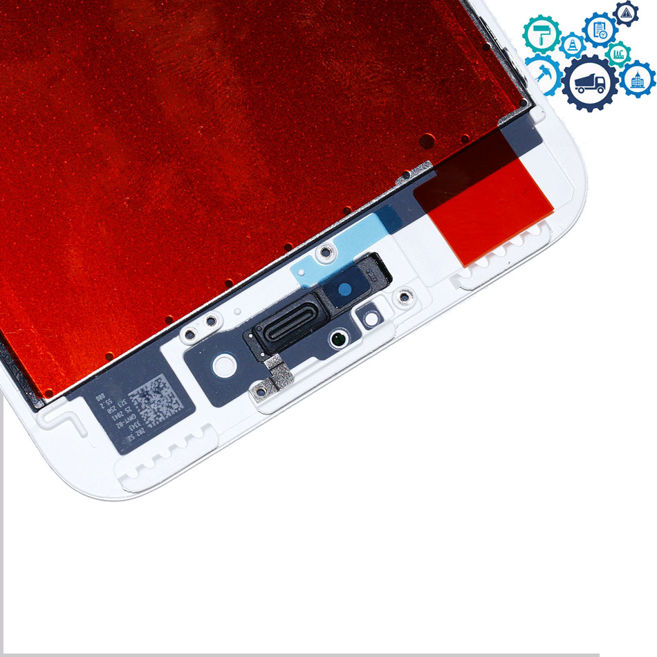 Mobymax 3pcs/lot Grade AAA+ display with Touch Digitizer Assembly+3D touch for iphone7 lcd Black/White +gift