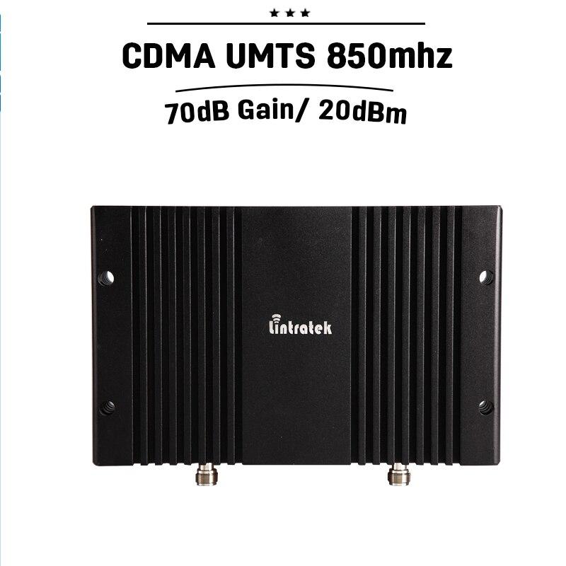 ALC MGC 70dB Gain GSM CDMA 850 Mobile Phone Booster Cellular Signal Repeater 3G UMTS Amplifier Repetidor De Sinal Celular 30