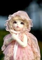 Bjd bjd 1/8 escala sobre 15 cm pop/sd bonito figura da resina modelo diy boneca pukifee ante toys presente. não inclui roupas, sapatos, peruca