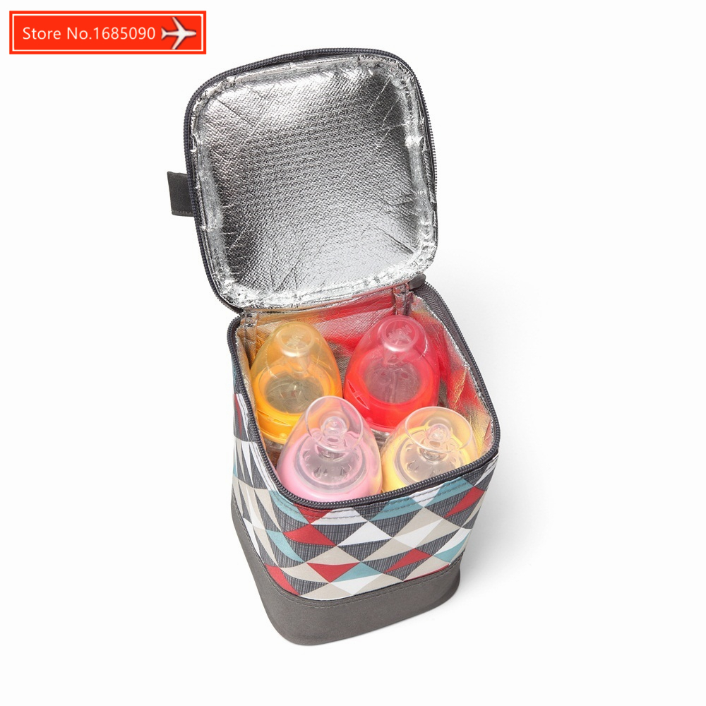 BABY Diaper Bag Fashion Portable Insulation Bag Thermal Food Picnic Lunch Bags Tote Baby Feeding Food Water Storage Bag