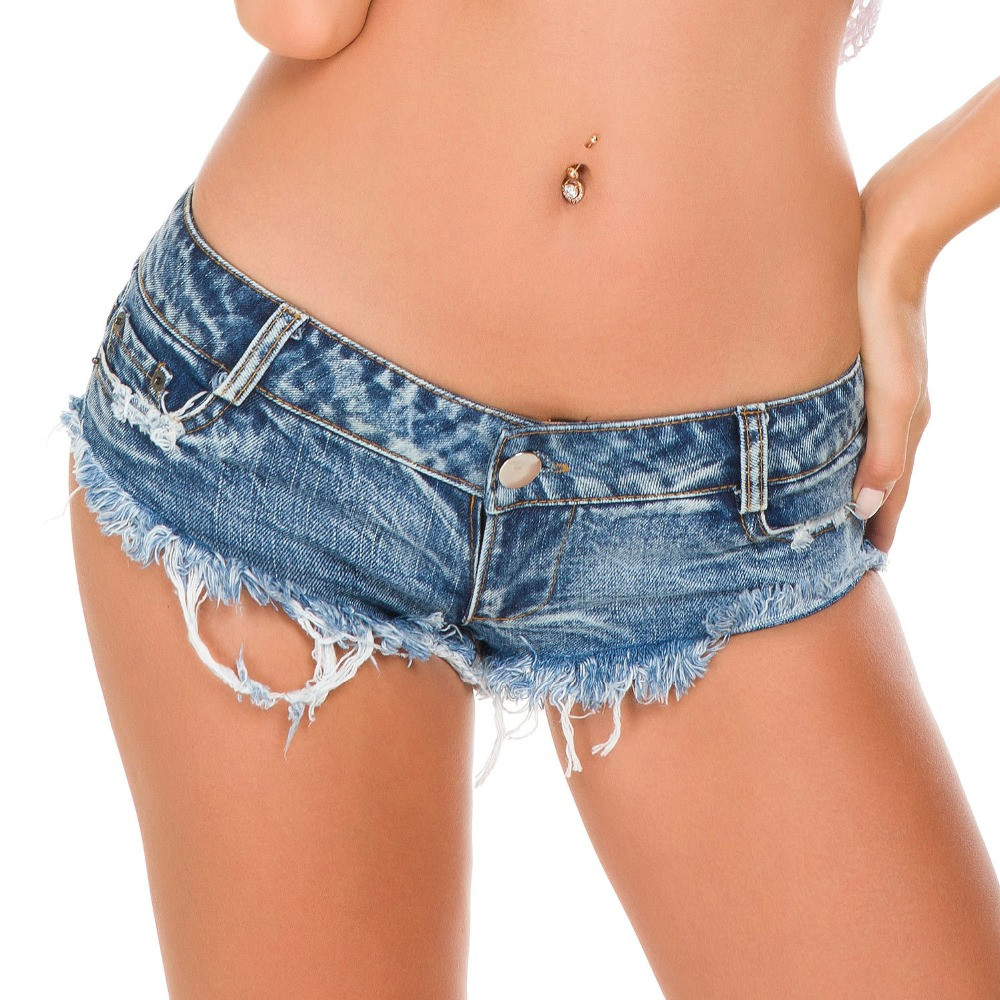 Summer new hot thin hip ladies casual denim shorts high waist stretch jeans female denim shorts Slim sexy women fashion jeans in Jeans from Women 39 s Clothing