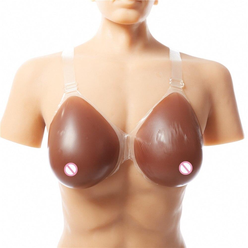 Fit boob fake man dancing