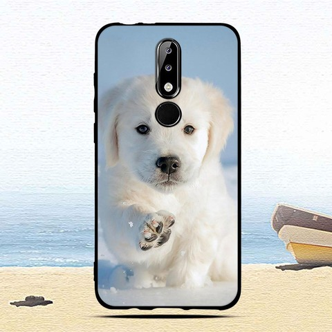 Luxury Silicone Case for Nokia 5.1 Plus/X5 Cartoon Protective cases for nokia5.1 plus mobile phone covers for Nokia 5.1Plus capa Islamabad