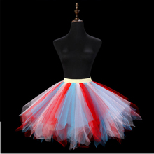 2017 Songyuexia Show candy color puff skirt skirt skirt skirt skirt princess skirt marathon stage skirt skirt husky skirt