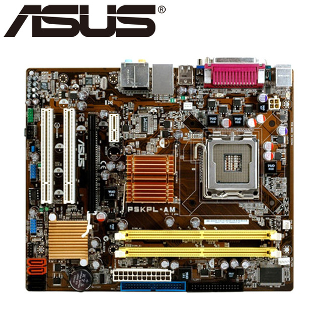Free shipping original motherboard for ASUS P5KPL-AM LGA 775 DDR2 USB2.0 boards 4GB G31 Desktop motherboard original motherboard for asus p5kpl am se ddr2 lga 775 for core pentium celeron 4gb g31 desktop motherboard free shipping