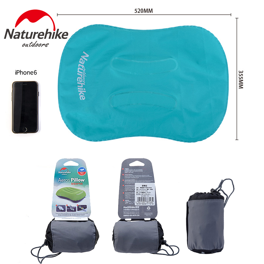 Ultralight Portable Inflatable Pillow Camping Beach Travel Kits Neck - Camping og vandreture - Foto 2