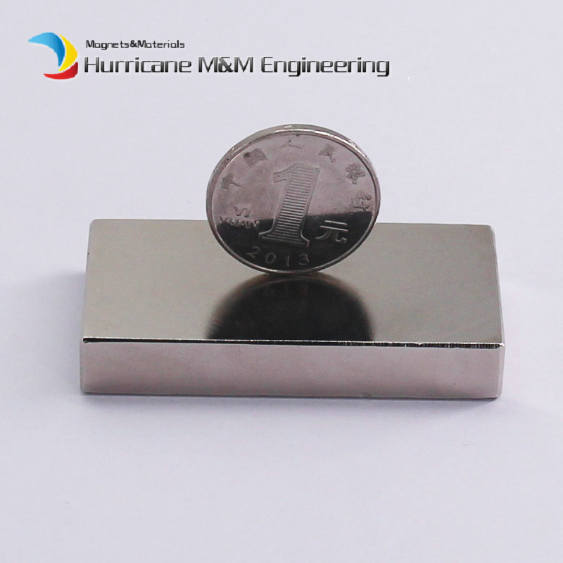 1 Pack NdFeB Block 60x30x10 (+/-0.1)mm Tool Holding Magnet Bar Strong Neodymium Permanent Magnets Rare Earth Lifting Magnets N42 2pcs d22 200mm 10000 gauss strong neodymium magnet bar iron material removal