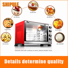 SHIPULE Hot sale Electric Pizza Oven with timer for commercial use for making bread, cake, pizza