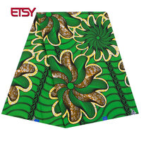 2019 Fashion High Quality new Wax 100% Cotton binta Fabric Wax Africa Fabric Batik Fabrics for Africa Clothing 24FS1297