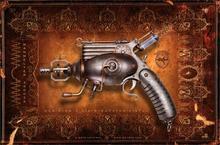 Cuadros Decoracion Cuadros Wall Art Steampunk Mechanical Vintage Weapons Guns Pistol 4-size Home Decoration Canvas Poster Print