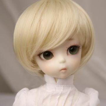 1/6 Bjd SD Doll Wig High Temperature Cute Short For BJD Doll Hair new 1 3 1 4 1 6 bjd wig short blue hair high temperature wire for 1 3 1 4 1 6 bjd sd dollfie