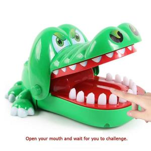 Baby toys Large Crocodile Jokes Mouth Dentist Bite Finger Game Joke Fun Funny Crocodile Toy Antistress Gift Kids Family Prank