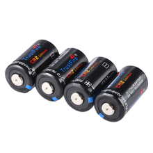 4pcs/lot TrustFire CR2 3V 750mAh CR 2 Lithium Battery Batteries with Safety Relief Valve For Flashlights Headlamps Camera цена 2017