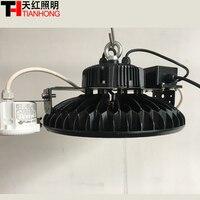 Светодиодный светильник высокого отсека 150 Вт Светодиодный светильник для внутреннего большого завода складской гараж с сумерками до расс