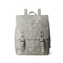Женщин большие старинные рюкзак искусственная кожа рюкзаки для девочек черного цвета школьная сумка рюкзак повседневный рюкзак Mochila
