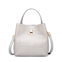 Fashion Genuine Cow Leather Casual handbags Women Bags Large Capacity Summer Bags For Shopping Lady's Shoulder Bags High Quality Handbags