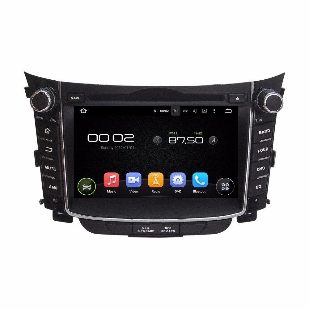 4 GB RAM Octa Core Android 8.0 voiture DVD GPS Navigation lecteur multimédia voiture stéréo pour Hyundai I30 2011 2012 2013 2014 2015 2016