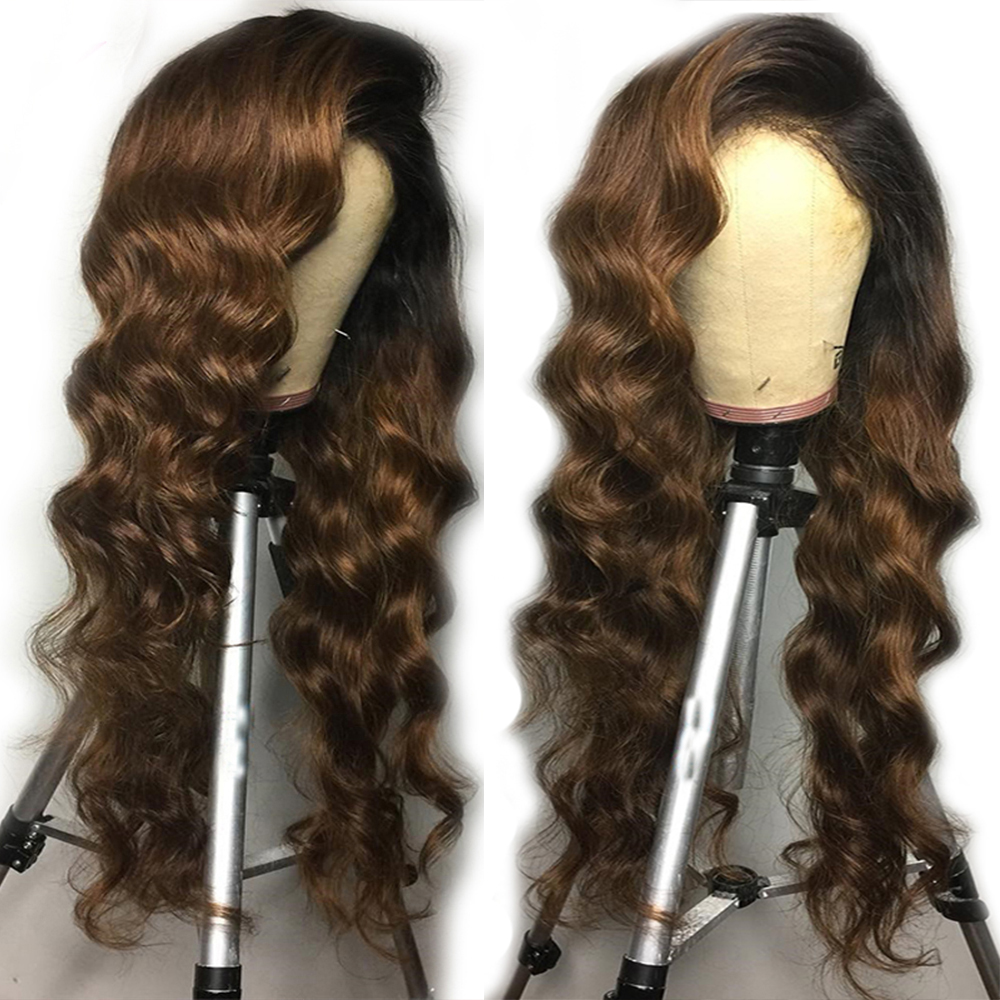 Lace Wigs Eversilky Ombre Wig 13x6\13x3 Lace Front Human Hair Wigs For Women 360 Lace Frontal Wig Brazilian Body Wave Remy Hair