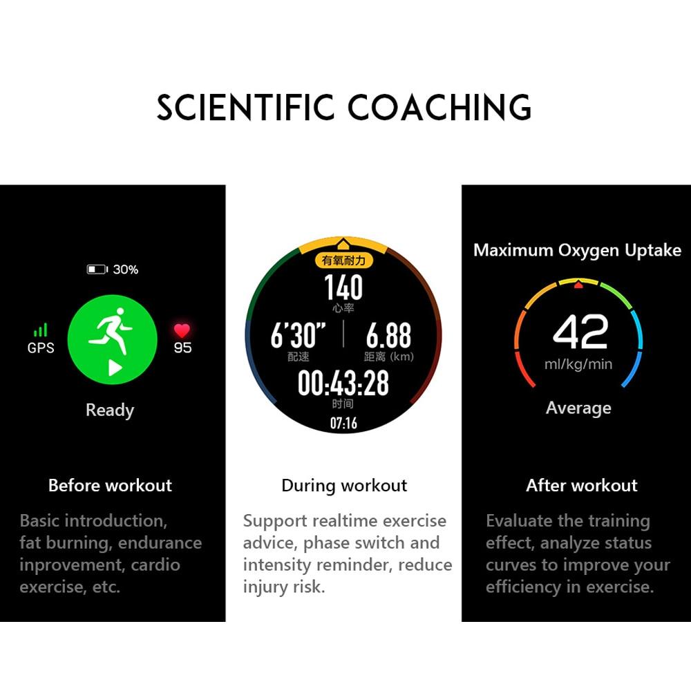 ES/DE In Stock Huawei Honor Smart Watch Magic Outdoor GPS Smart Watch Men 5ATM Waterproof 1.2
