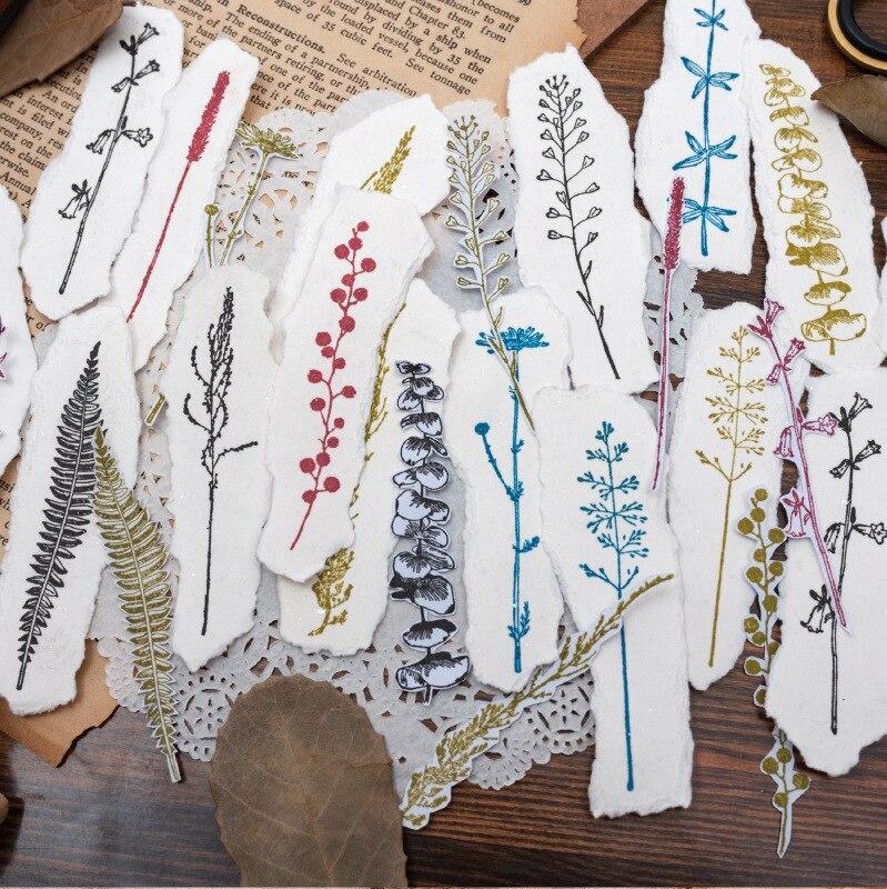 Ретро mimosa/eugene leaf/fern/bellflower/daisy/wild flower/сосновая ветка деревянная печать штамп завод дерево и резиновое уплотнение бревно резиновый штамп