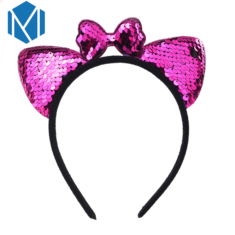 Professional Sale Mism Cute Flower Lace Bunny Hairband Women Korean Headband Sexy Ears Hairband Girls Female Party Prom Hairpins Hair Accessories Girl's Hair Accessories