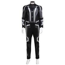 Tron Legacy Sam Flynn Costume Clothing Adult Men's Jumpsuit Cosplay Costume Custom Made