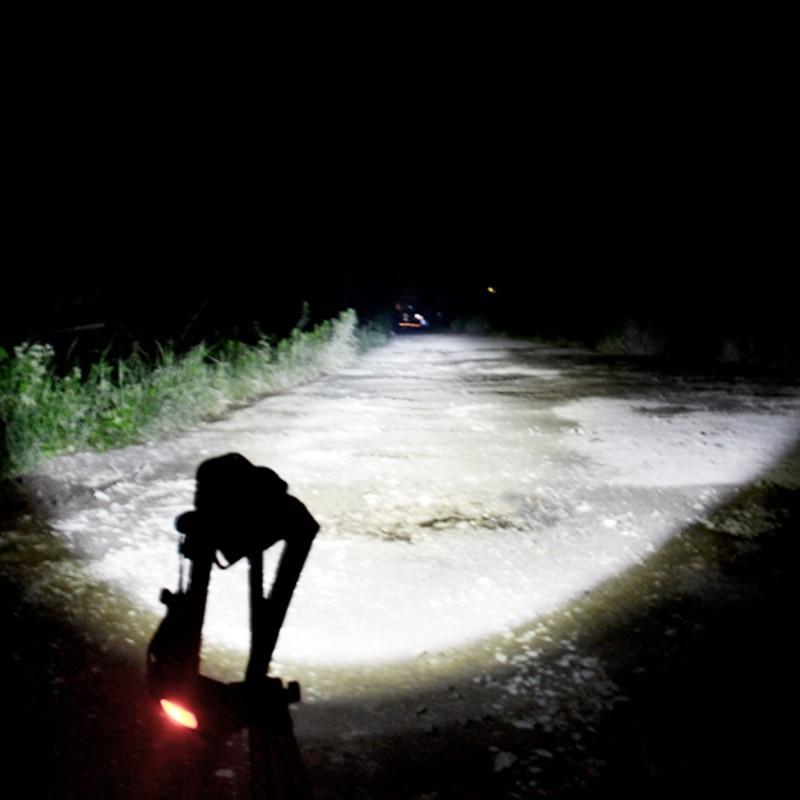 Usb led reflektor led cree xml t6 cob czołówka latarka head light - Przenośne oświetlenie - Zdjęcie 6
