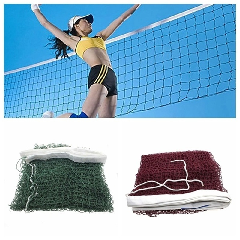 Professional Portable Standard Braided Badminton Net Square Mesh Standard Braided Badminton Training Tools