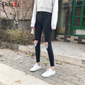 Spring Jeans Women Skinny High Waist Jeans Women Blue Denim Pencil Pants Stretch Waist Women Jeans Black Blue Pants