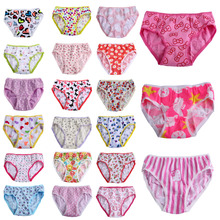 6pcs pack New 2016 Fashion Baby Girls Soft Cotton Panties Underwear For Kids Floral Short Briefs