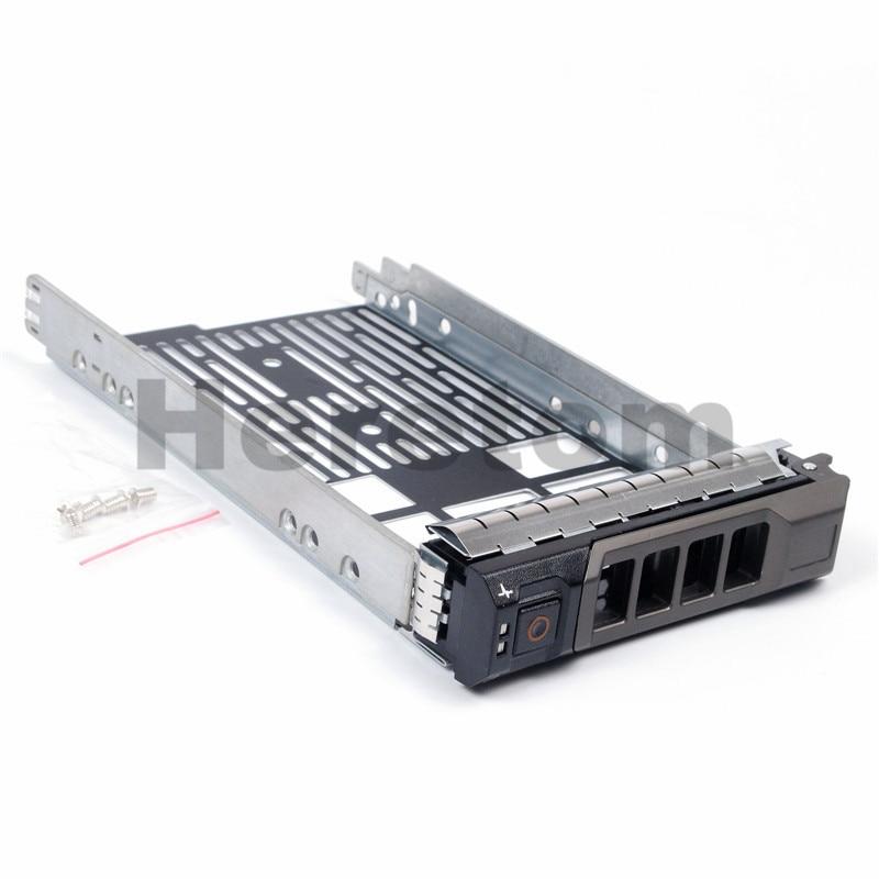 F238F 0F238F 3 5inch SAS  SATA HDD Tray Caddy G302D X968D For DELL R320 R710 R610 R410 T710 T61 T610 Hard Drive Caddy Bracket
